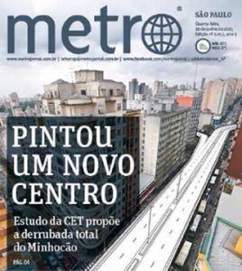 Desmonte CET Metro Minhocão 7