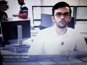 TV FOLHA Reporter Pedro Ivo