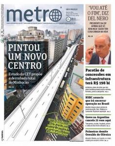 Desmonte CET Metro Minhocão