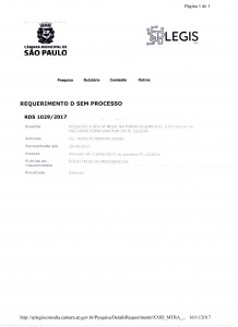 Desmonte Vereador Alberto Nomura retira seu nome do PL 10 14 parque Minhocão 242